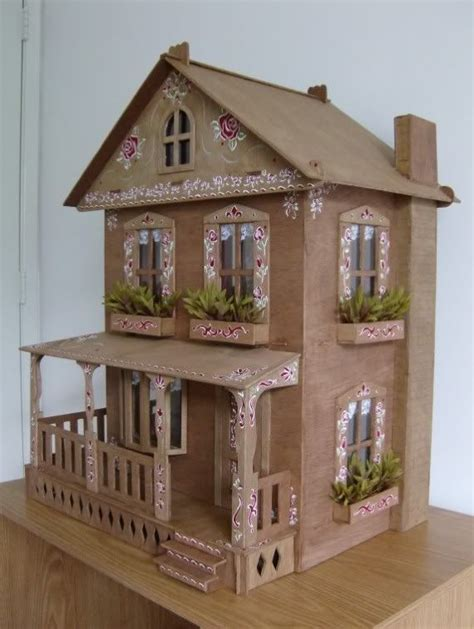 how to make a cardboard house for dolls 17 best ideas about doll house plans on pinterest diy