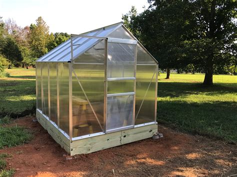 harbor freight greenhouse assembling the harbor freight 6x8 greenhouse steemit