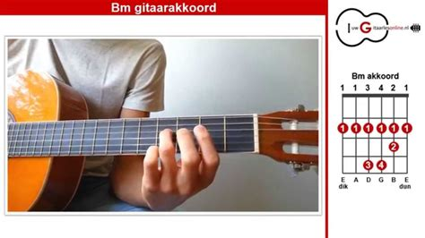 Bm Op bm akkoord gitaar