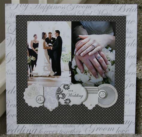 scrapbook layout ideas for engagement wedding scrapbook layouts pinterest
