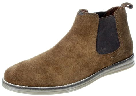 mens leather desert boots uk mens corran brown pull on leather suede desert