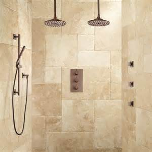 Bath Shower Systems Labelle Thermostatic Dual Shower System Hand Shower And