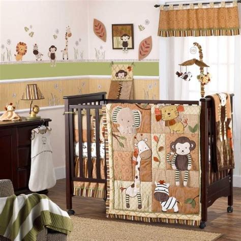 amazon baby bedding buy best price cocalo nali jungle 6 piece baby crib