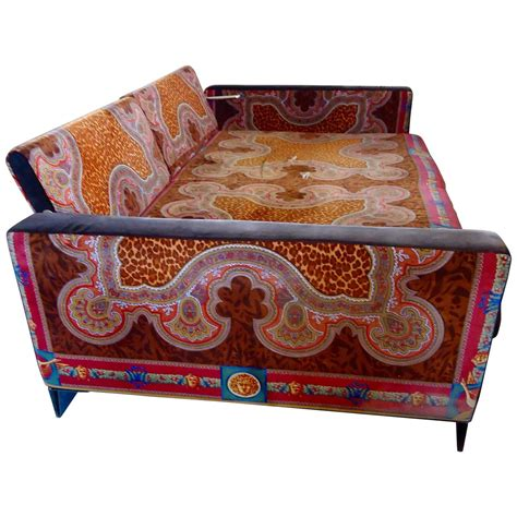 versace sofas for sale movie star vintage versace daybed couch at 1stdibs