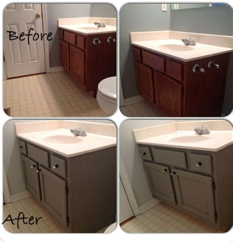 paint bathroom vanity ideas painted bathroom vanity diy pinterest