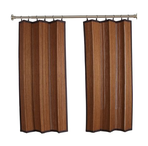 bamboo outdoor curtains bamboo curtains thecurtainshop com