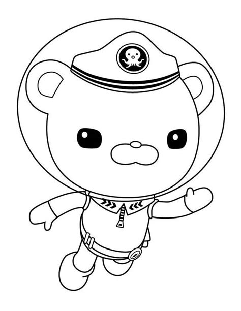 octonauts tweak coloring pages www imgkid com the