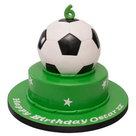 Football 2 Tier Cake