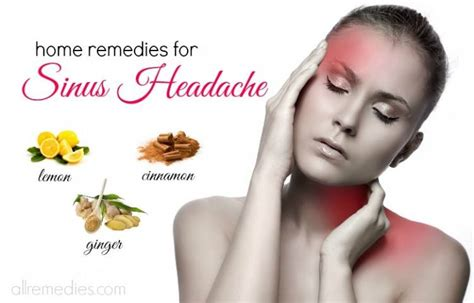 top 17 home remedies for sinus headache relief