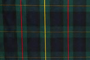 tartan plaid fabric green navy yellow red the fabric mill