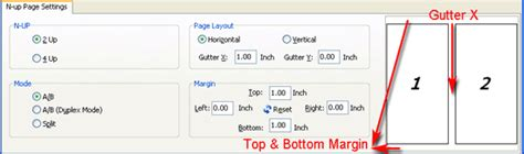 page layout gutter definition how to set gutter or margin while n up pdf pages a pdf com
