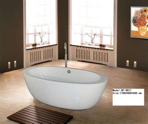 vasca da bagno ovale prezzi vasca da bagno d inzuppamento ovale bf 6611 vasca da