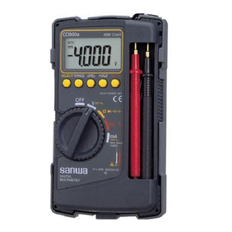Jual Multitester Digital Sanwa Murah jual sanwa digital multimeter cd800a murah bhinneka