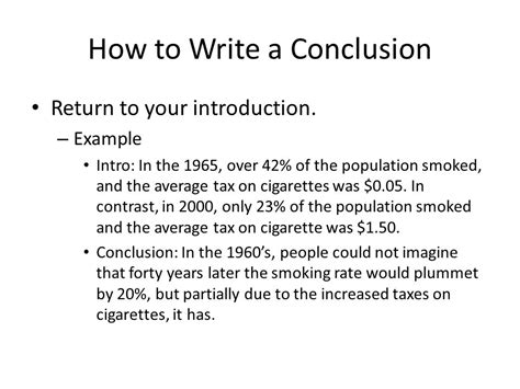 How To Write Essay Conclusions by Composition 101 Five Paragraph Essay Conclusions Ppt