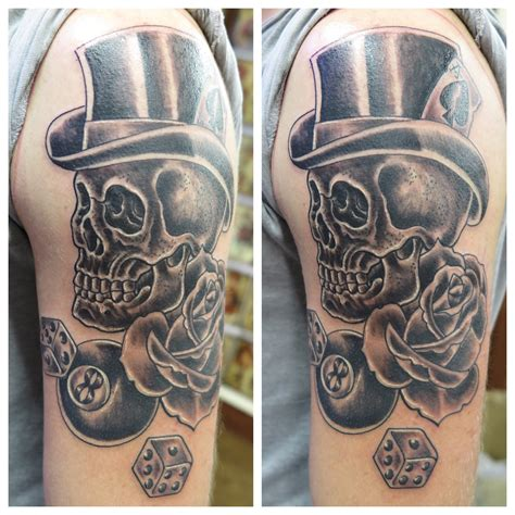 ireland tattoo skull st