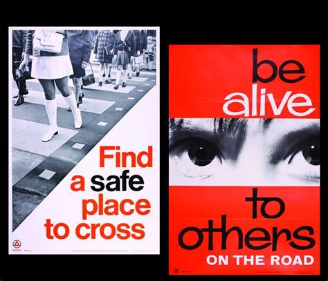 poster design road safety vintage road safety posters the import design blog