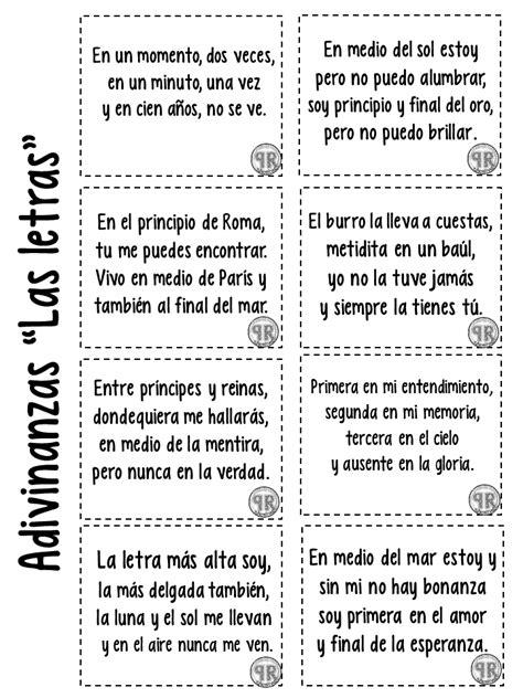 Book interactivo las adivinanzas (6) - Imagenes Educativas