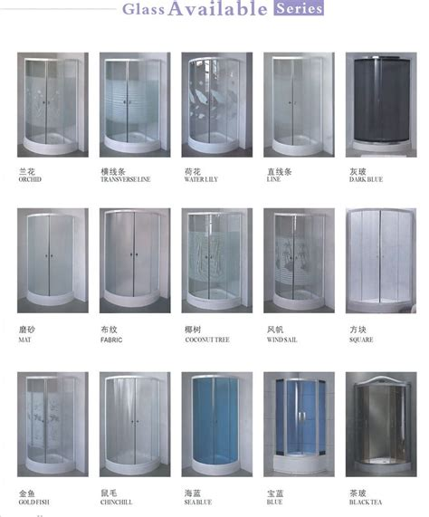 Sliding Glass Shower Door China Mainland Bath Screens Types Of Shower Door Glass