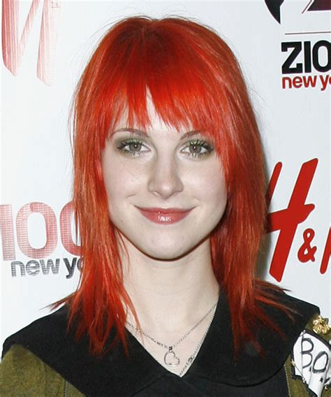 Hayley Williams Hairstyles by Hayley Williams Medium Alternative Hairstyle