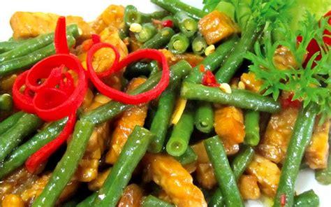 resep oseng tempe kacang panjang spesial cocok  menu
