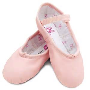 bloch 225 bunnyhop pink leather ballet shoes