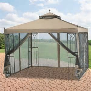 Walmart Patio Gazebo Garden Winds Replacement Canopy Top For The Parkesburg Gazebo Riplock 350 Walmart