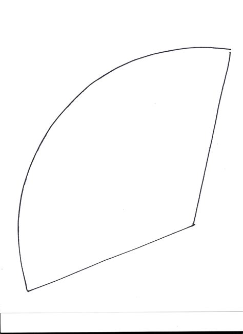 cone template cone cut out template pictures to pin on pinsdaddy