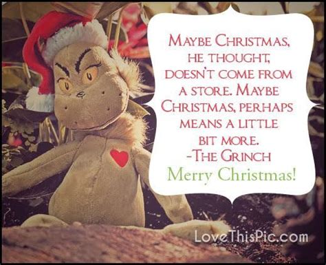 grinch christmas quote pictures   images
