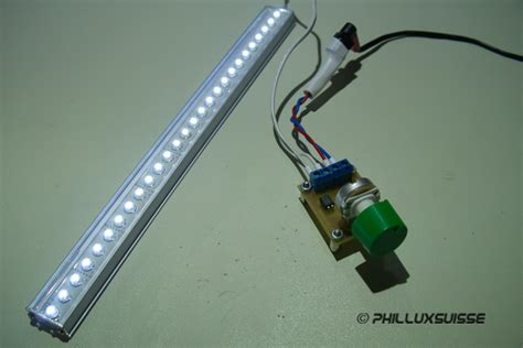 Lu Motor Led Dc electronic 555 dimmer f 252 r led beleuchtung