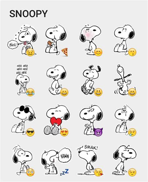 Snoopy Aufkleber by Snoopy Sticker Set Snoopy Peanuts