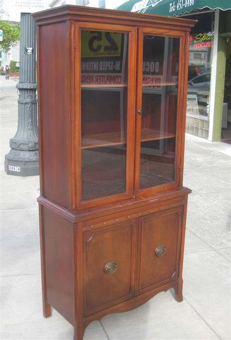 China Cabinet Furniture by Uhuru Furniture Collectibles Sold Duncan Phyfe China