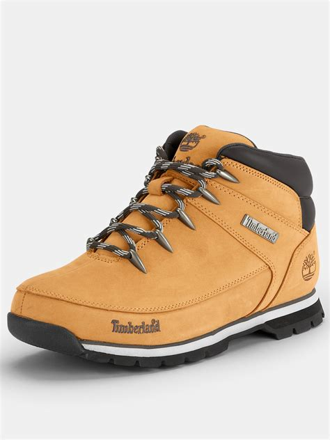 mens timberland boots wheat timberland timberland eurosprint mens boots in khaki for