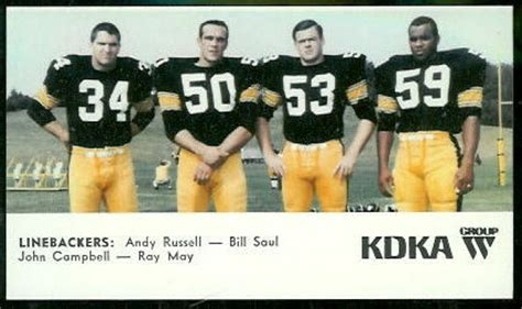 the steel curtain linebackers pittsburgh steelers quot steel curtain quot 1960 1980 s on