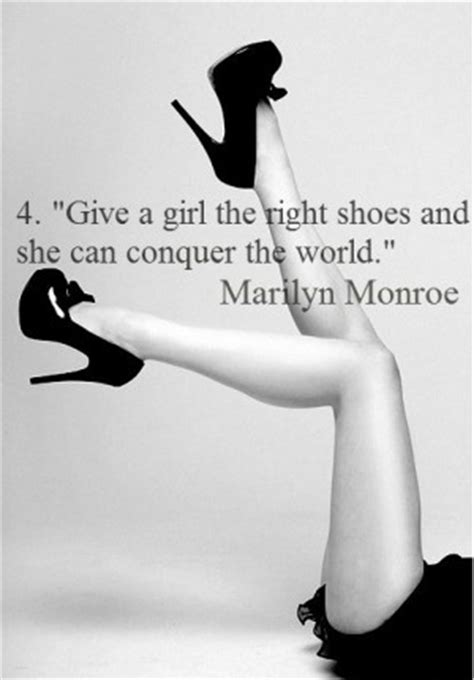give the the right shoes and she can marilyn quotes about weight quotesgram