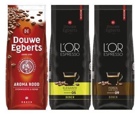 aanbieding l or espresso bonen l or espresso of douwe egberts bonen aanbieding week 19