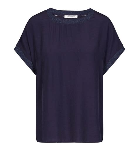 Norma Top co couture new norma top s s shirt navy