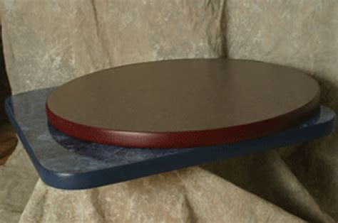 custom laminate table top with t mold osctmr