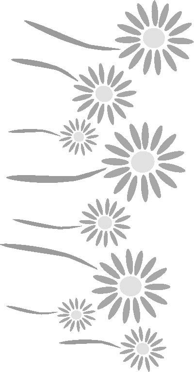 printable daisy stencils free stencils collection flower stencils stenciling