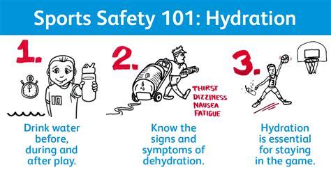 hydration youth sports sports safety 101 hydration safe worldwide