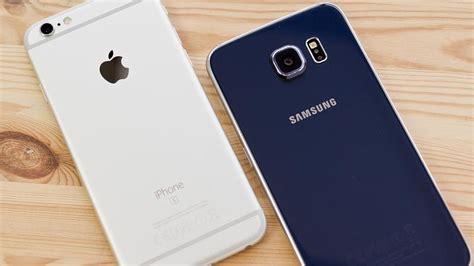 iphone   samsung galaxy  comparison macworld uk