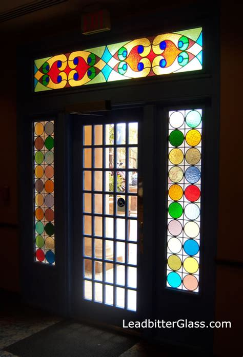 Coloured Glass Doors Stained Glass Inspirations