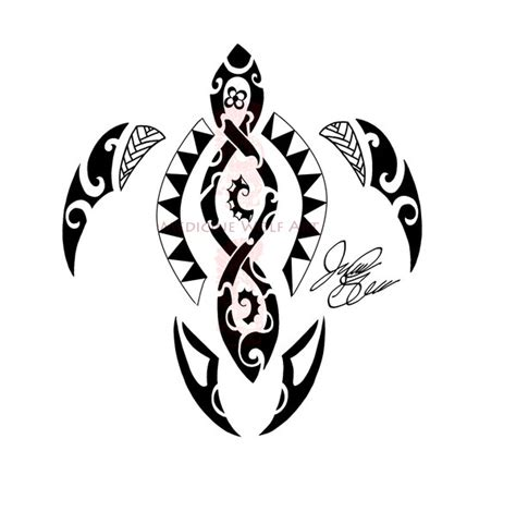 polynesian turtle tattoo tattoo collections