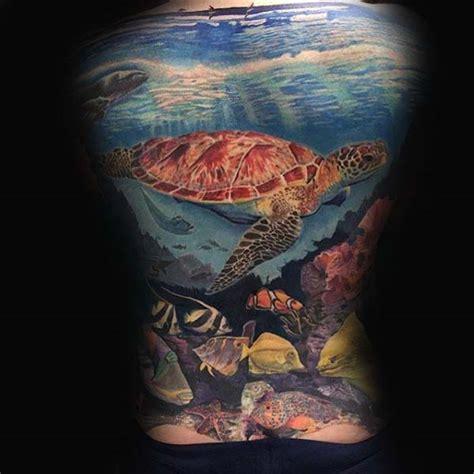 tattoo care ocean swimming 100 turtle tattoos for men hard shell design ideas