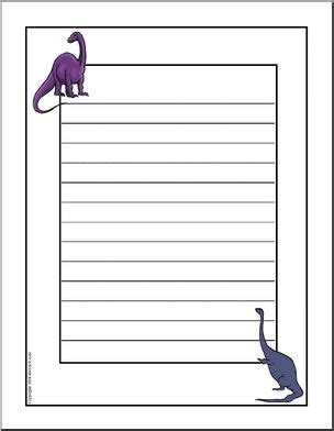 Science Dinosaurs Worksheets Page 1 Abcteach Border Paper Template 2