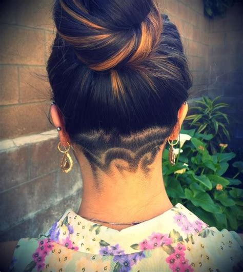 back of head shaved hair designs 19 best images about back of the head shaved designs on