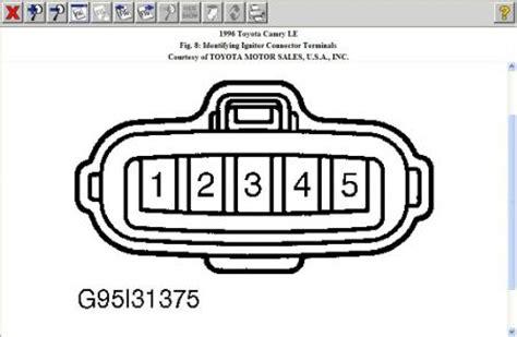 1996 toyota camry no spark code p1300 computer problem
