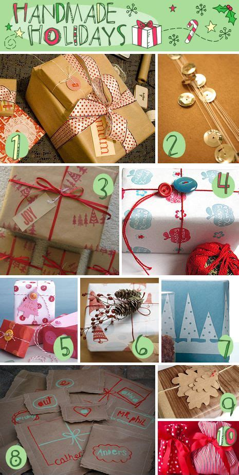 Handmade Wrapping Paper Ideas - 17 best images about gift wrapping ideas on
