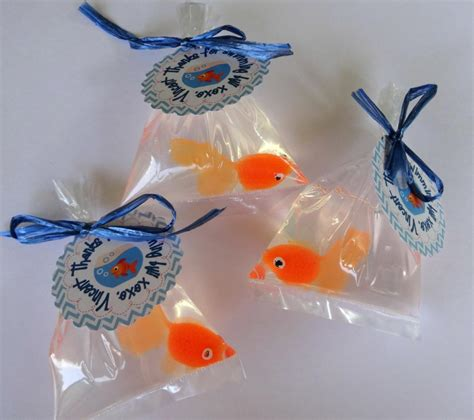 Goldfish In A Bag Soap Party Favor Carni L Theme Elmo