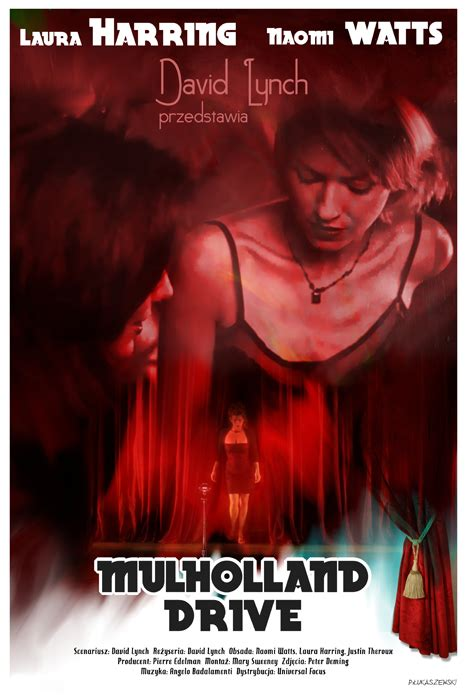 drive movie poster by jleeisme on deviantart mulholland drive david lynch movie poster by p
