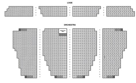 Building Contractors Near Me by Seating Chart Loge And Orchestra Yelp